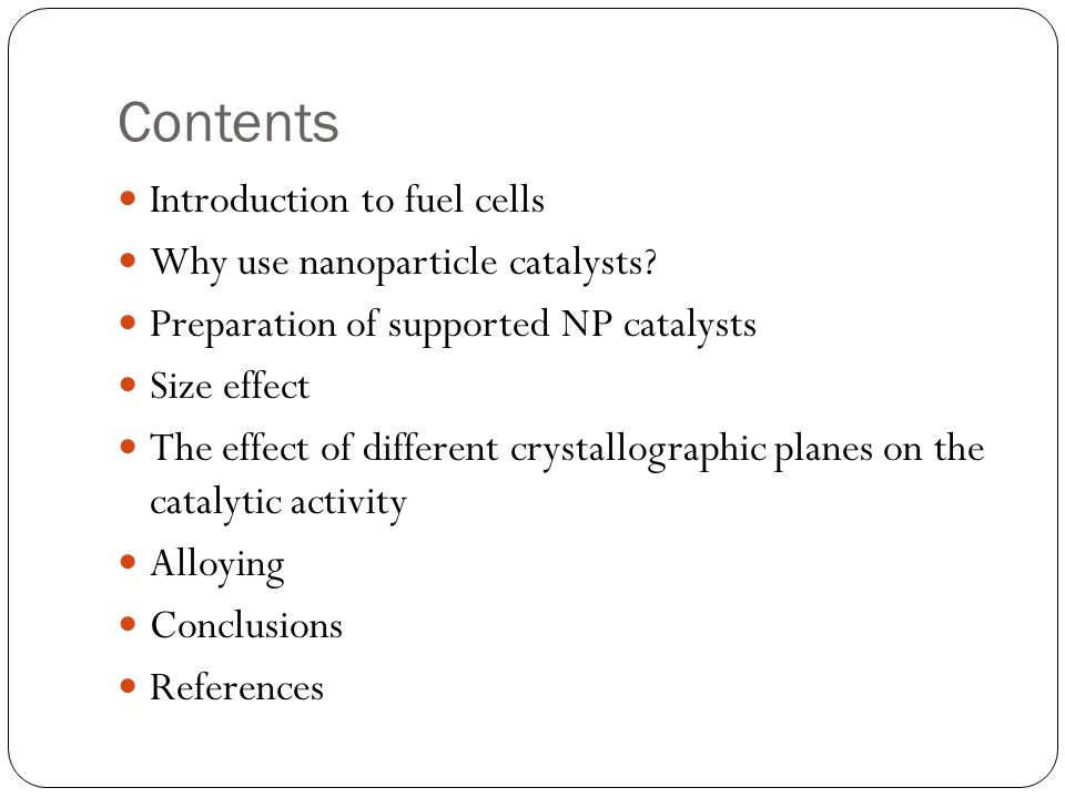 Taina rauhala fuel cell catalysts based on metal nanoparticles 2 contents introduction fandeluxe Images
