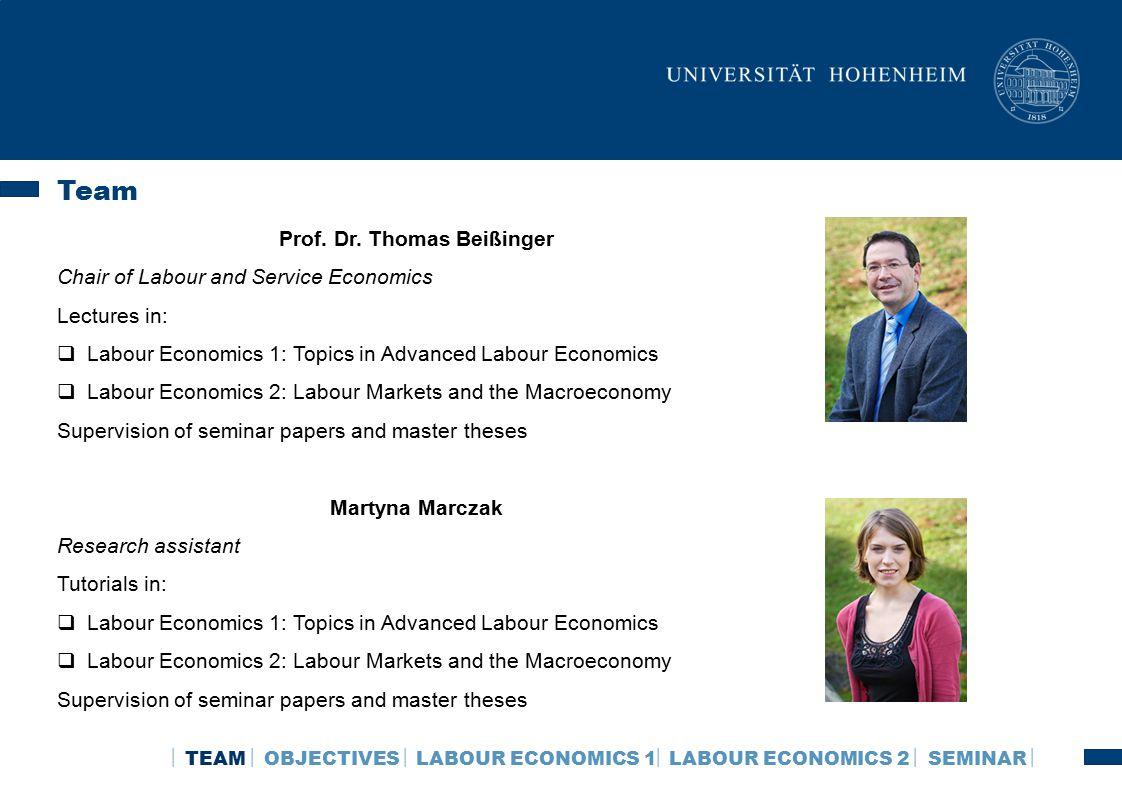 labor economics thesis topics