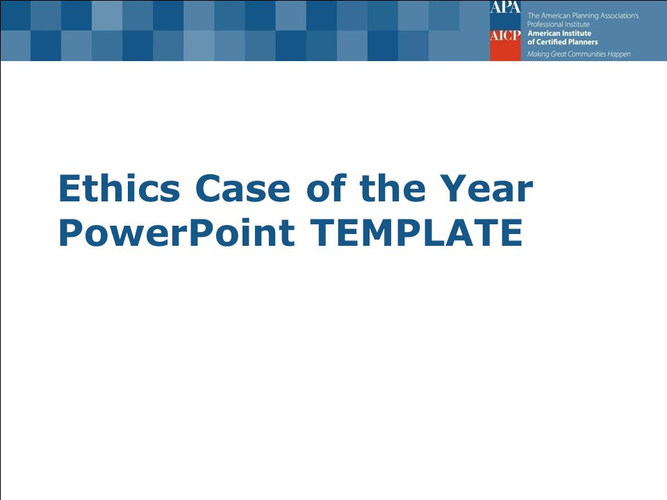 Ethics case of the year powerpoint template advice on conduct 1 ethics case of the year powerpoint template toneelgroepblik Images