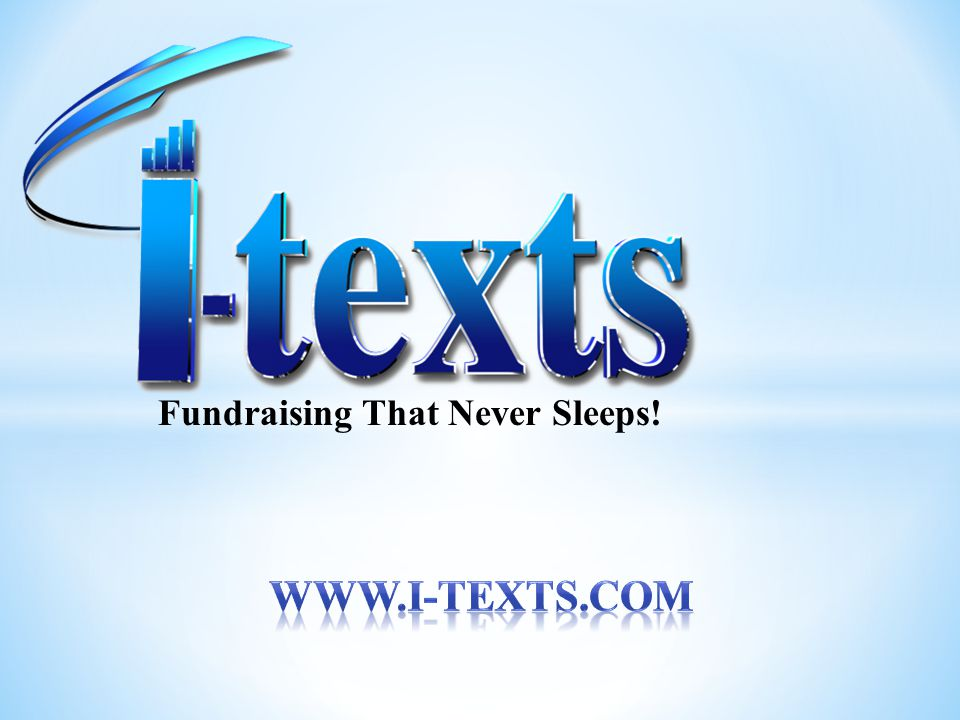 Fundraising That Never Sleeps!