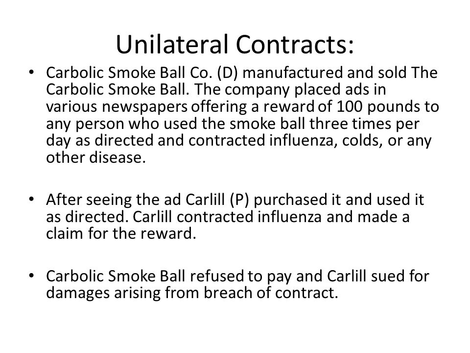 Contracts A Contract Is A Promise Or Set Of Promises And If