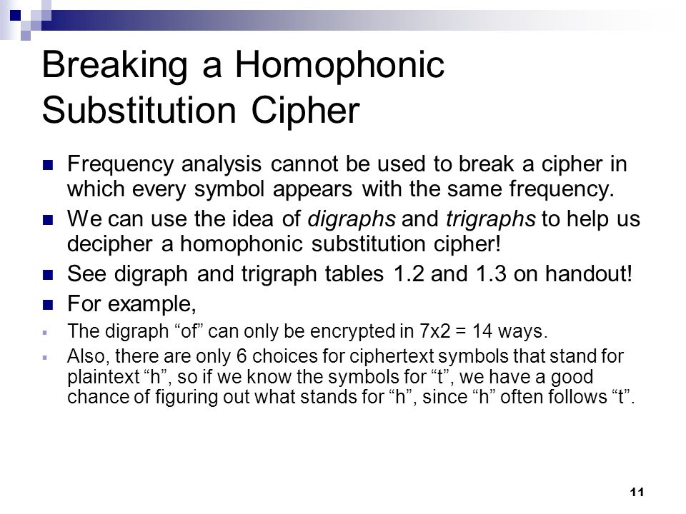 1 Codes, Ciphers, and Cryptography-Ch 2 1 Michael A  Karls