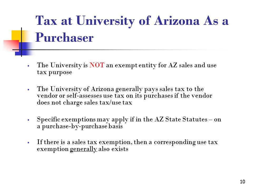 1 Arizona Sales Tax Use Tax Chunyan Pan Tax Manager Financial