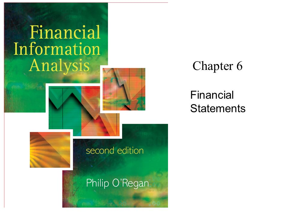 Chapter 6 Financial Statements