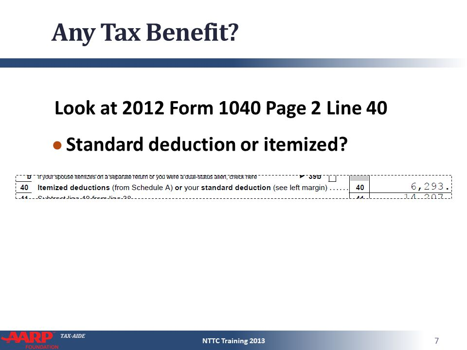Tax Aide Statelocal Income Tax Refunds Form 1040line 10 Pub