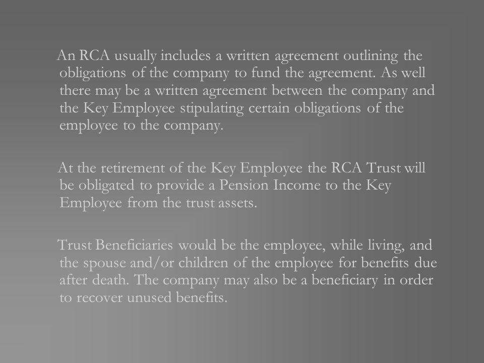 Retirement Compensation Arrangement Rca What Is An Rca