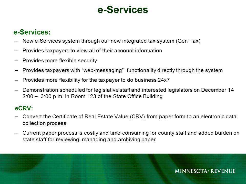 Legislative Hearing December 6 2011 Update Of Tax Analytics And