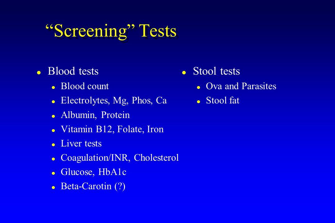 beta carotin test