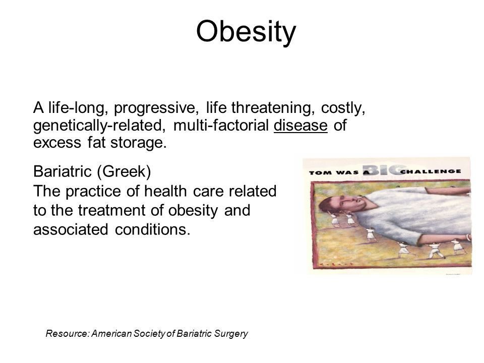After attending this program the participant will be able to: 1.Define obesity and calculate Body Mass Index (BMI).