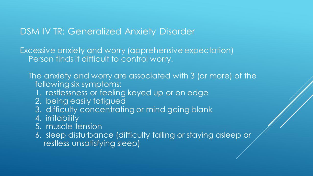 generalized anxiety disorder dsm - 1279×720