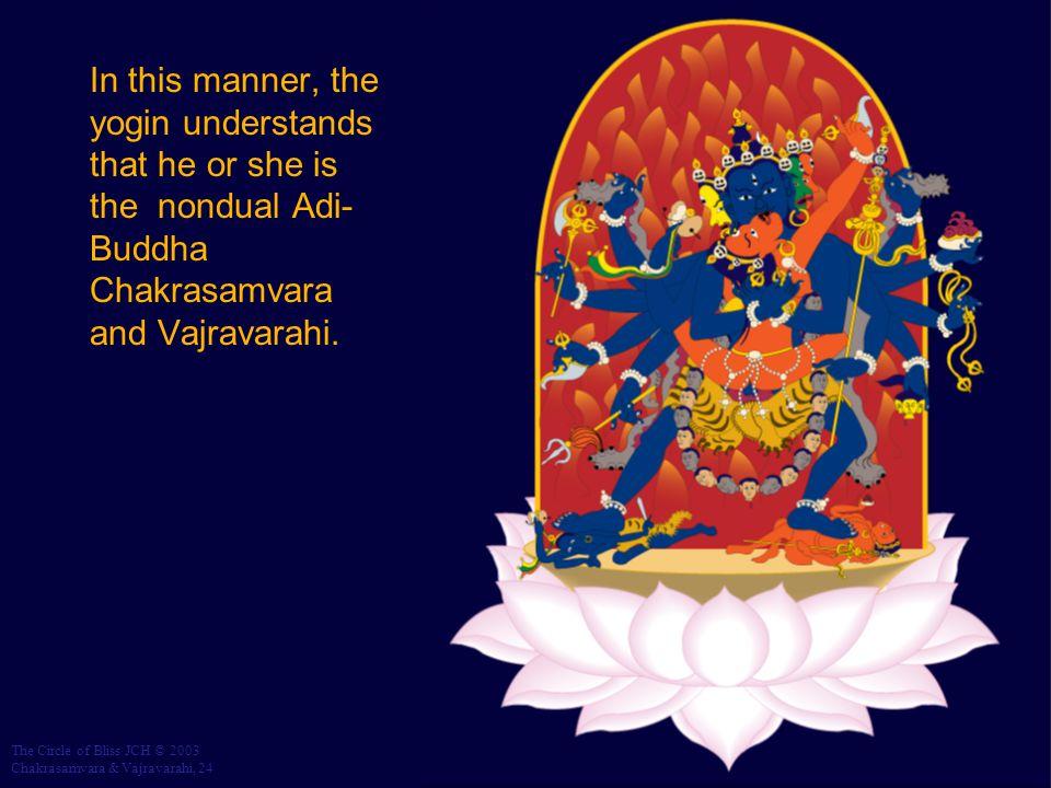 The Circle of Bliss JCH © 2003 Chakrasamvara & Vajravarahi