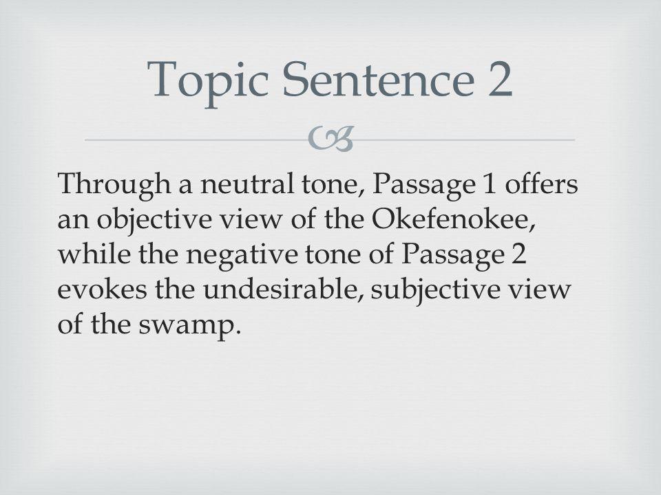 okefenokee swamp rhetorical essay