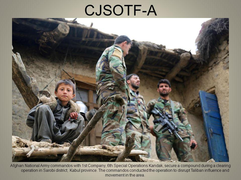 Combat Camera Combat Camera photos  CJSOTF-A An Afghan