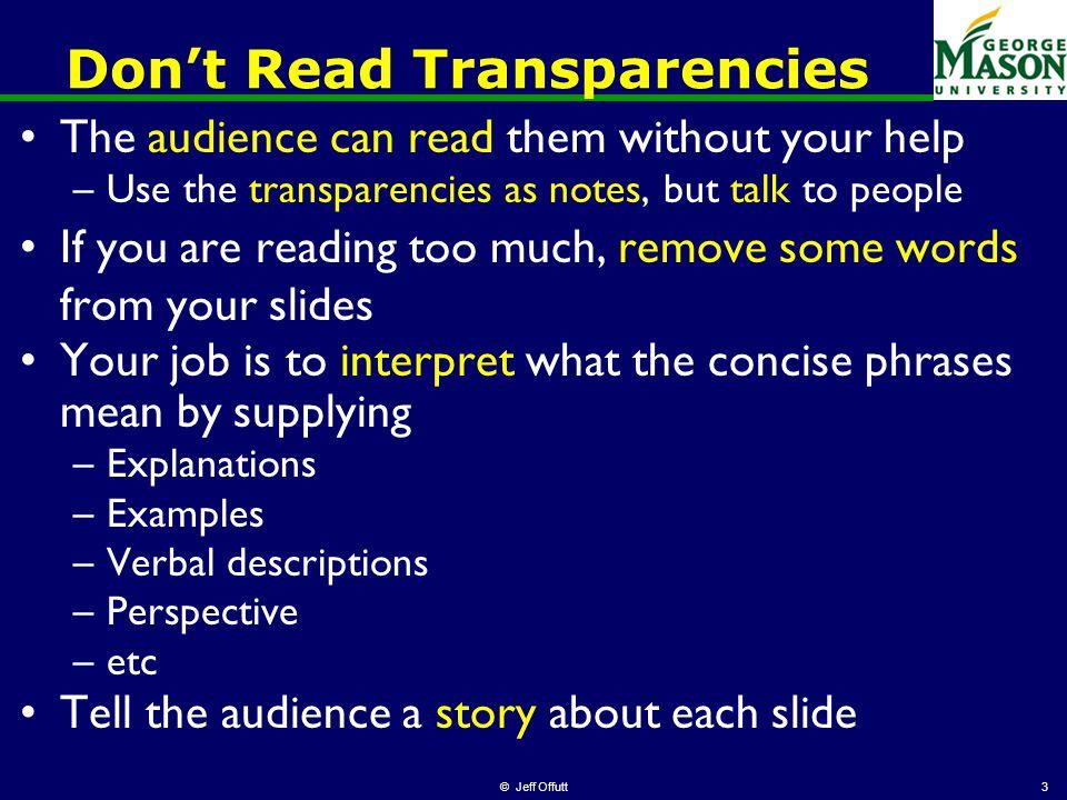 phd seminar hints for giving presentations b dos and don ts of