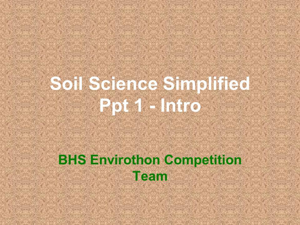 Soil science ppt.