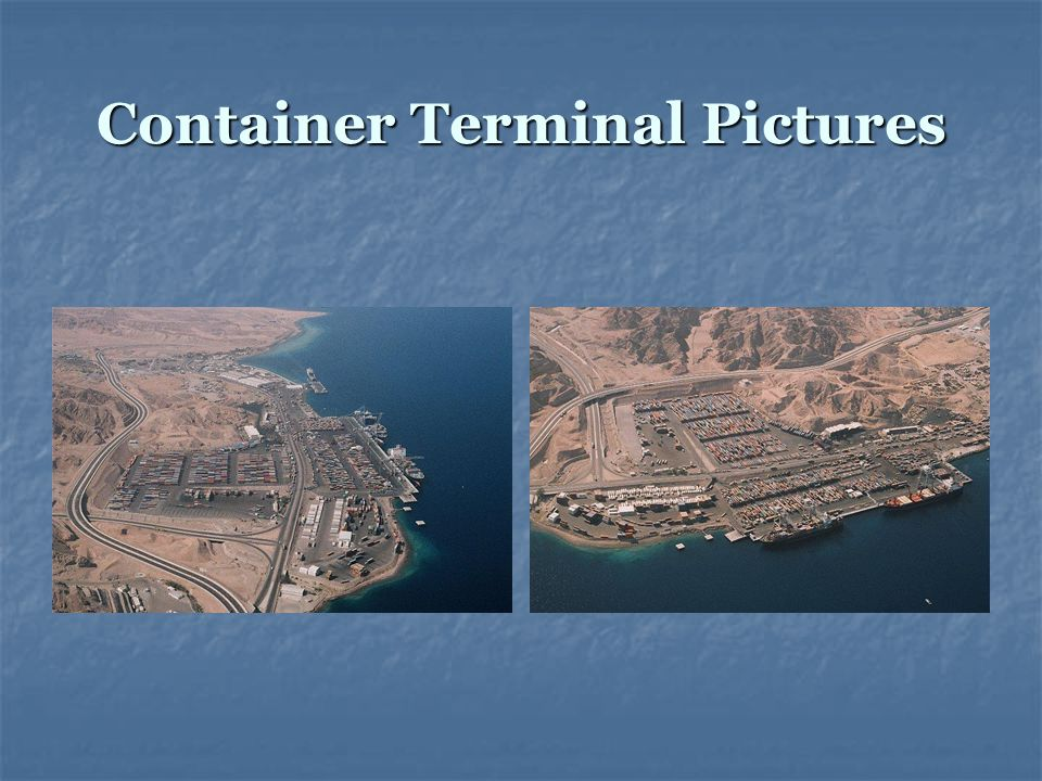 Container Terminal Pictures
