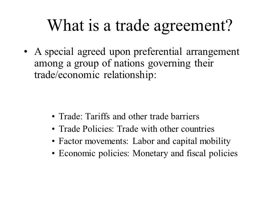 International Trade Policy Economic Integration And Regionalism
