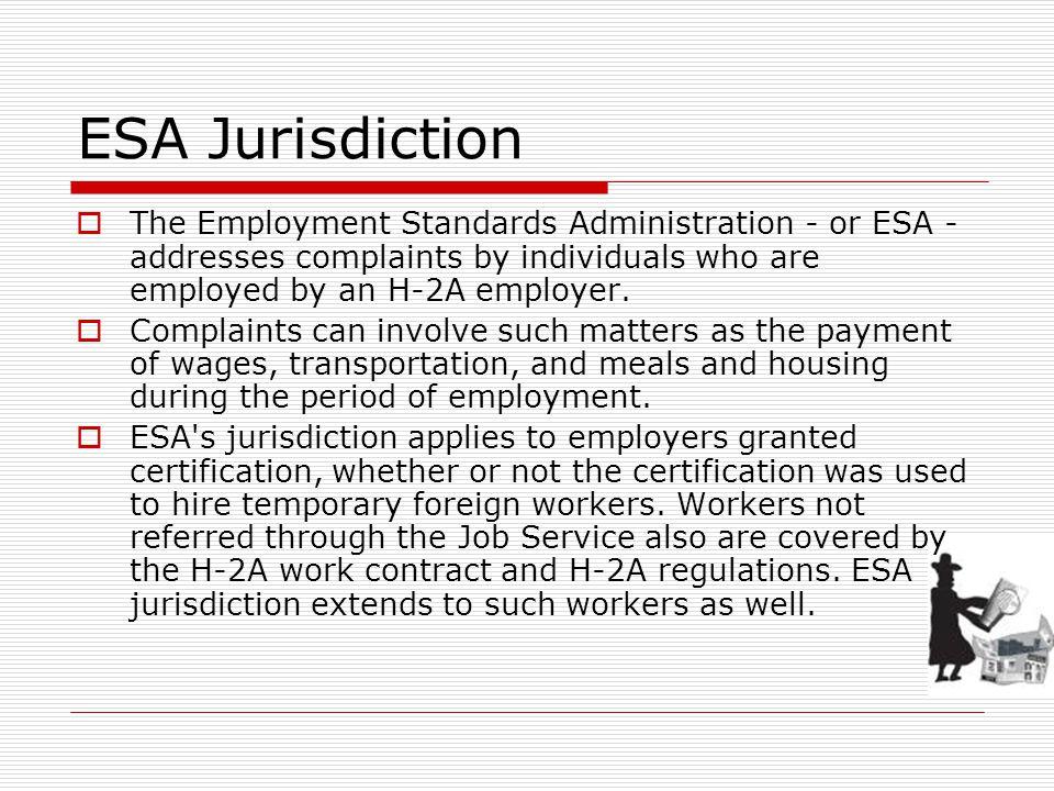 Investigating Farmworker Complaints Unit 5 Foreign Labor