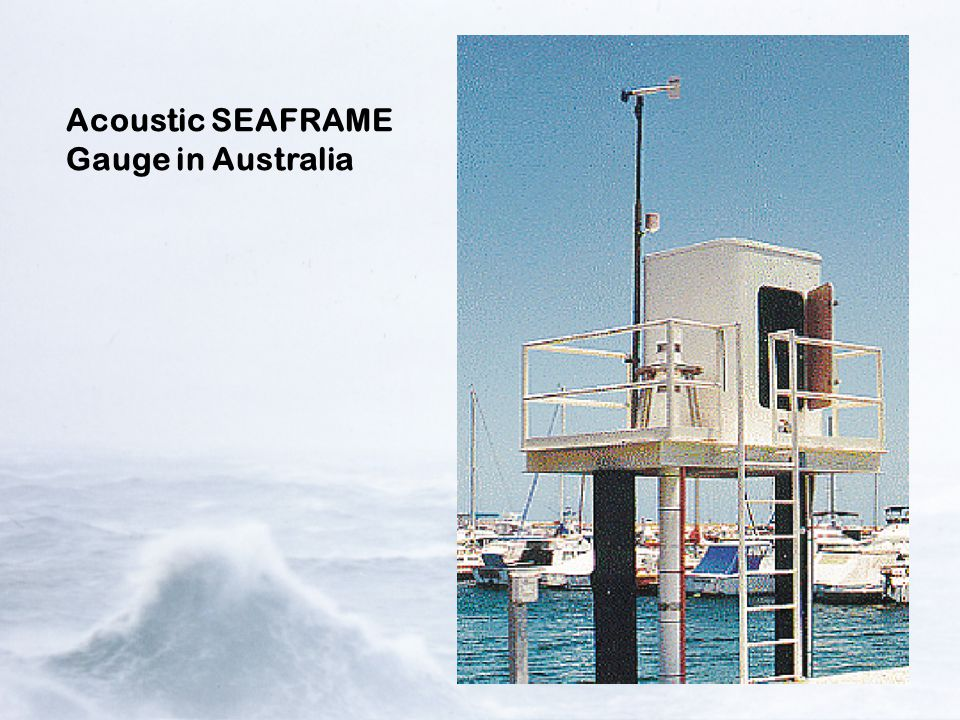 Acoustic SEAFRAME Gauge in Australia