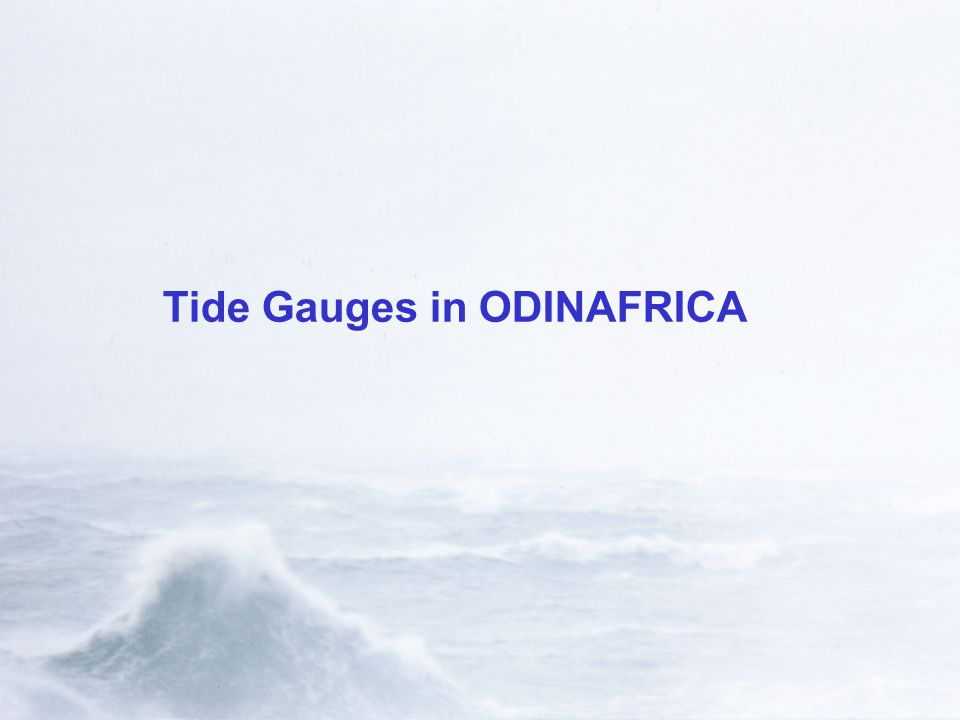 Tide Gauges in ODINAFRICA