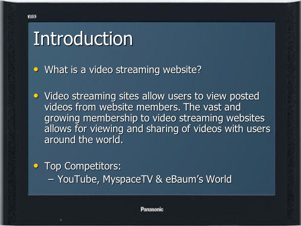 Video Streaming Team XSTREAM Rachel Whirley, Alex Williams, & Steven