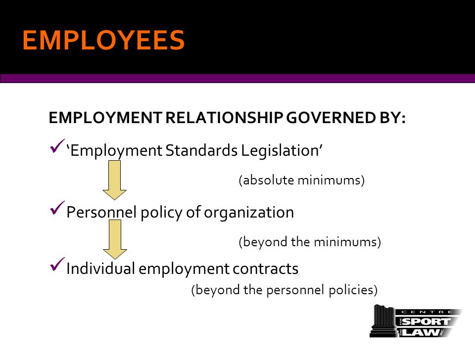 EMPLOYMENT AND CONTRACTOR RELATIONS ppt download