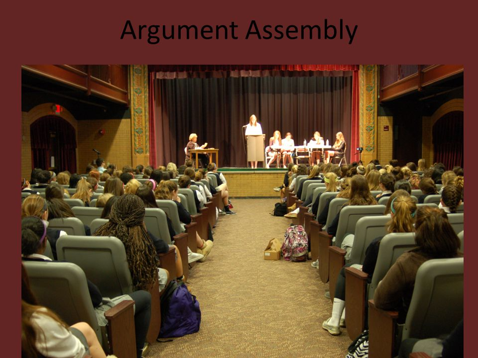 Argument Assembly