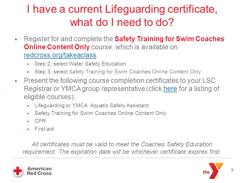 safety training for swim coaches answering coaches' questions