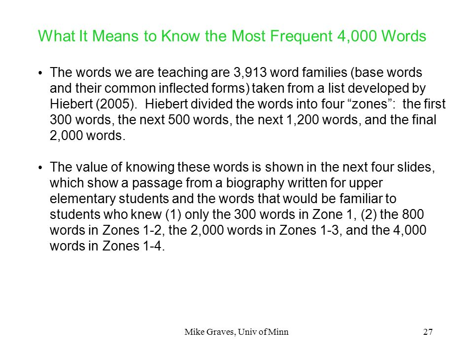 1 Teaching Individual Words: One Size Does Not Fit All