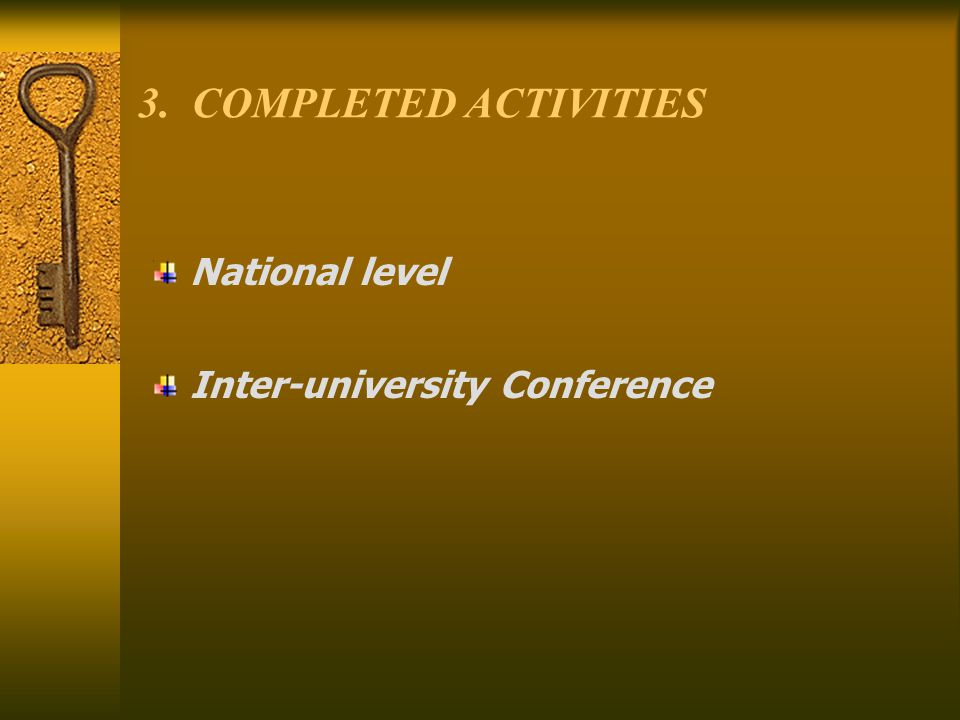 AGENCY FOR EVALUATION: Composed of 9 members, proposed by the Inter-university Conference and elected by the Board for Accreditation.