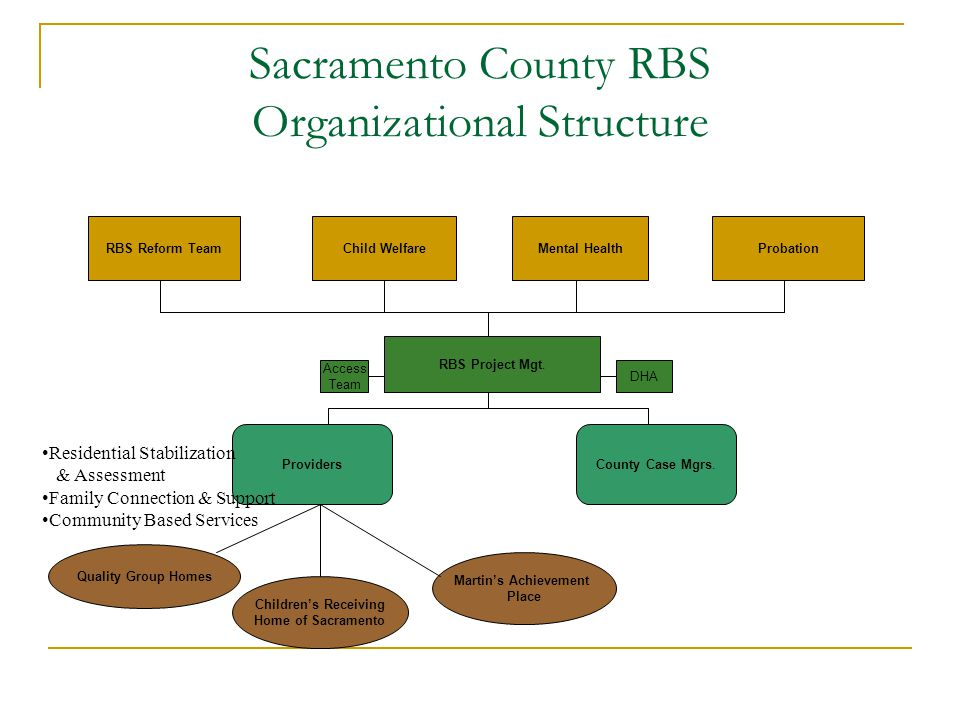 Sacramento County Rbs Reform Structure And Process March Ppt Download