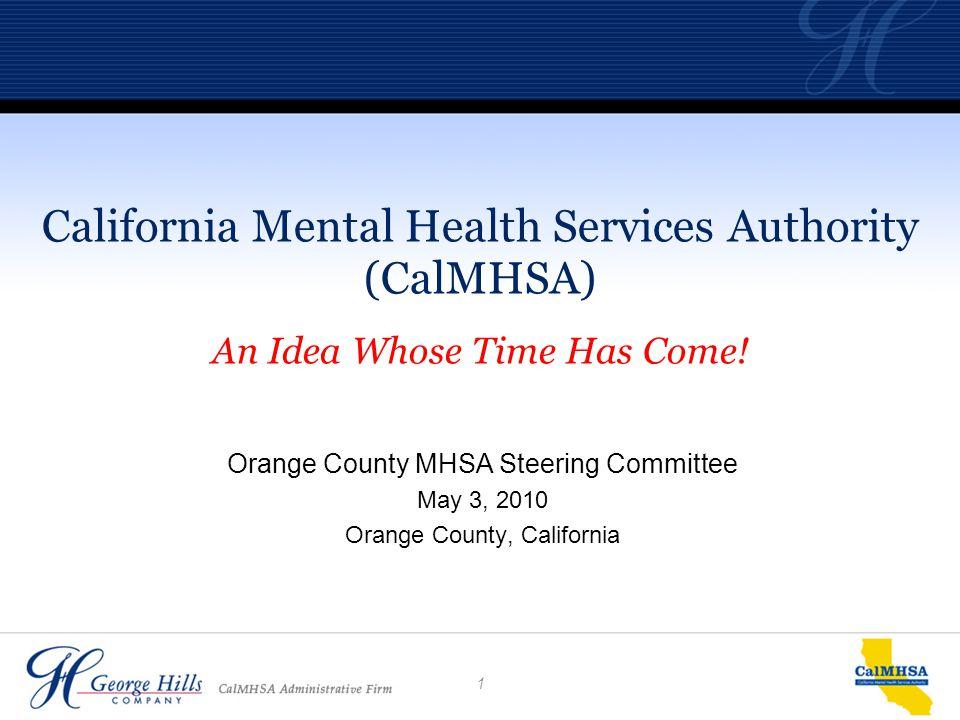 1 Orange County Mhsa Steering Committee May 3 2010 Orange County