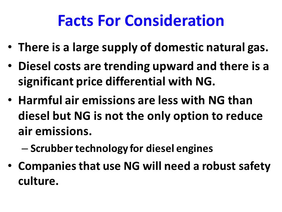 General Study Findings for the Great Lakes Region The Liquefied Natural Gas (LNG) and Compressed Natural Gas (CNG) supply chains for all modes of transportation is in its infancy.