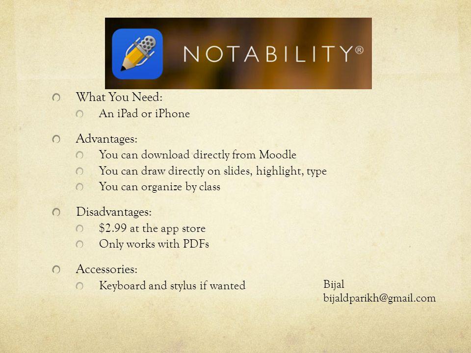 ipad moodle download pdf