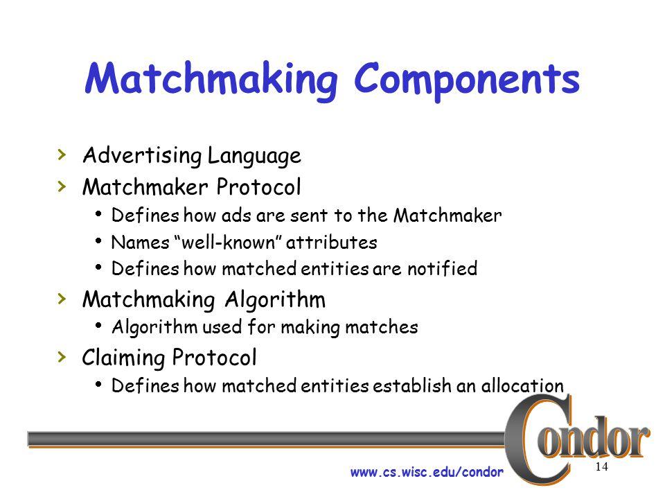 Csc matchmaking
