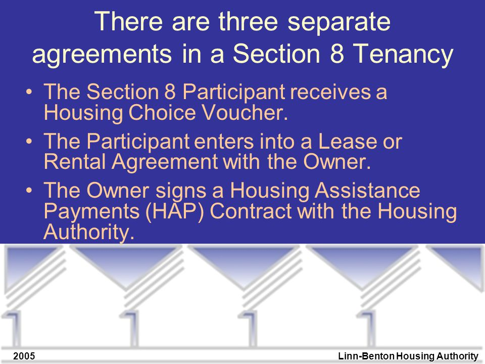 2005linn Benton Housing Authority The Section 8 Triangle Presented