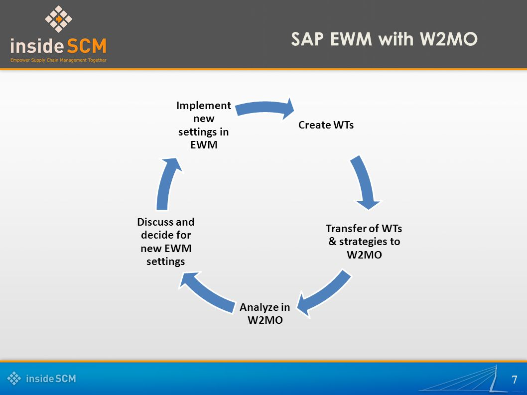 SAP EWM with W2MO  2 What is my pain?  Limited visualization of