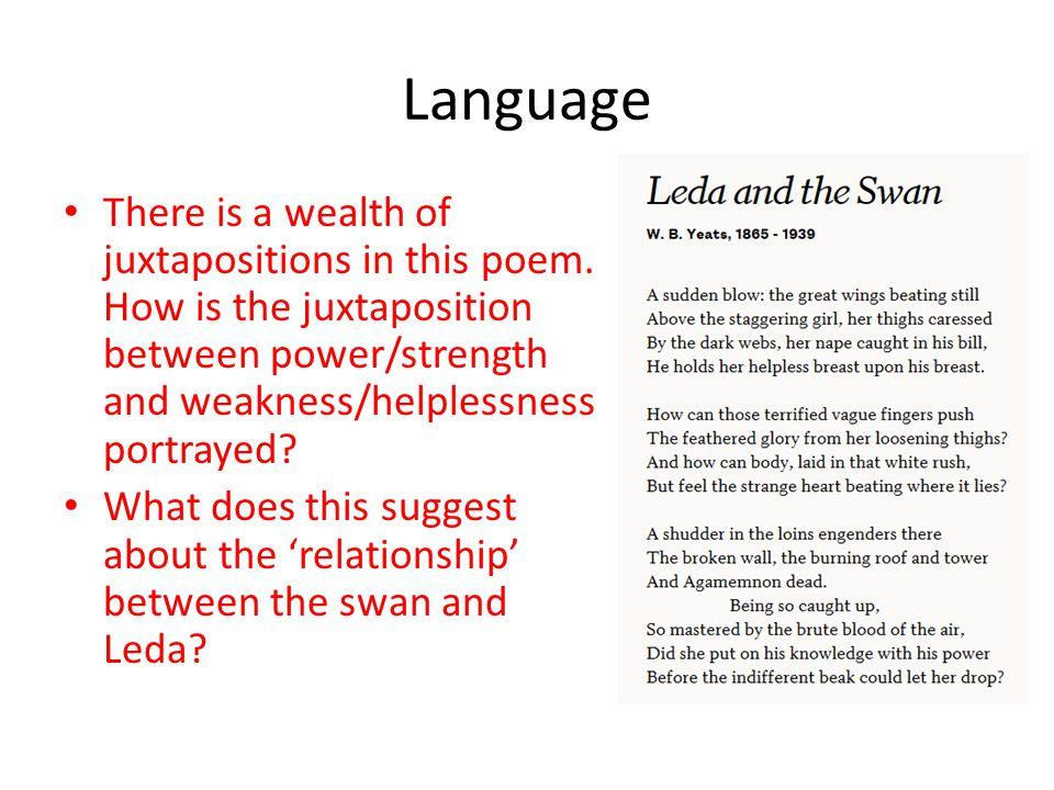 leda and the swan analysis