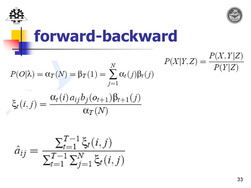 33 forward-backward