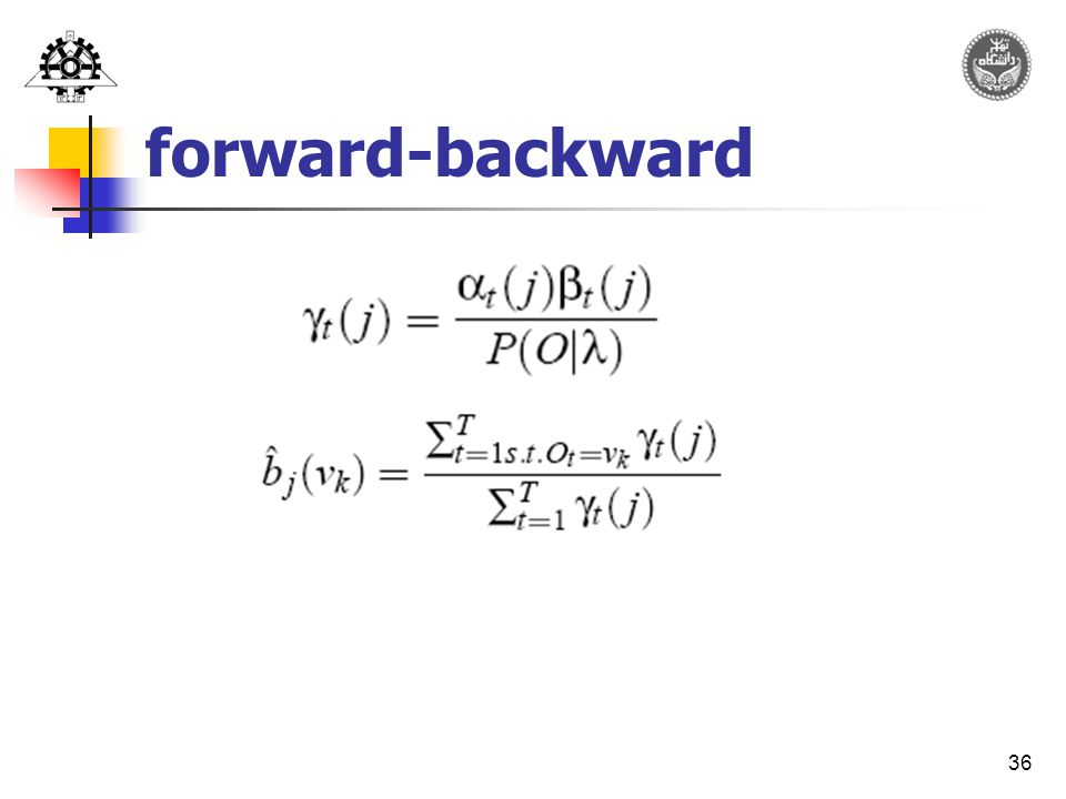 36 forward-backward