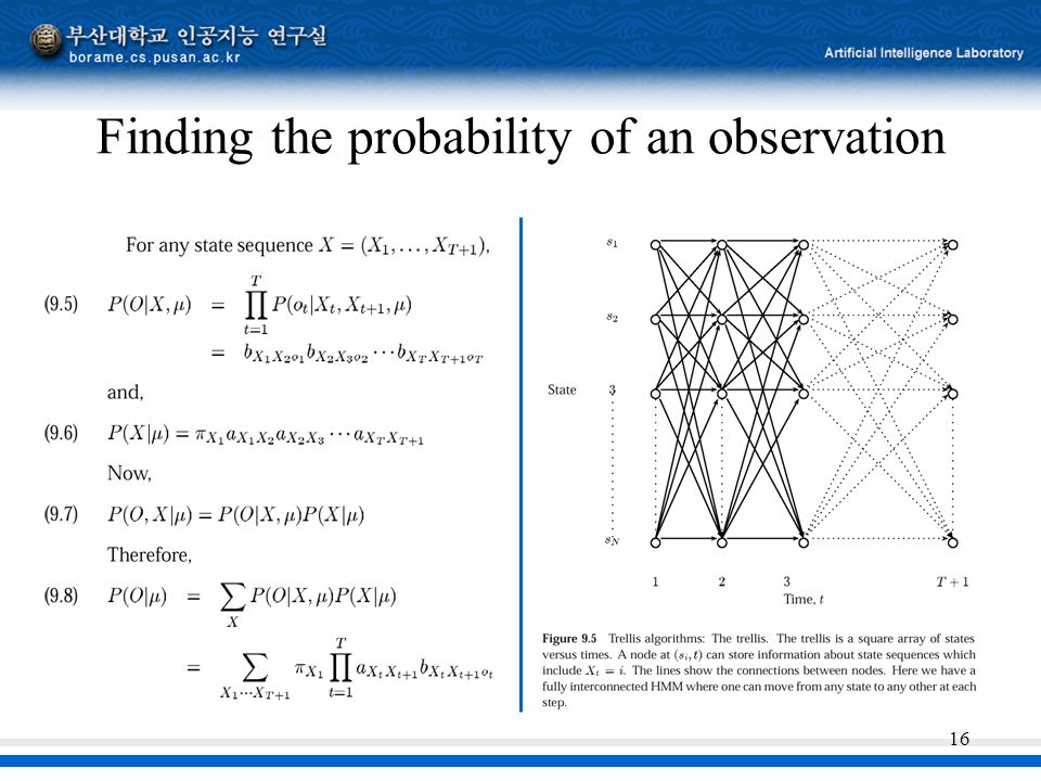 16 Finding the probability of an observation