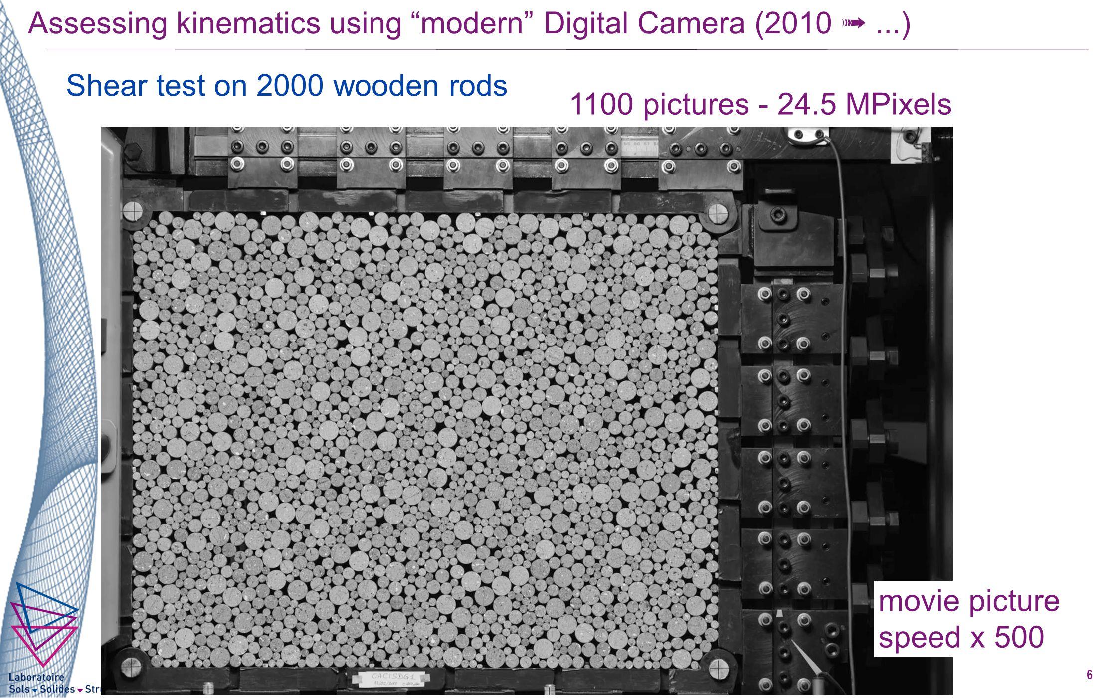 Mesure de champs cinématiques particulaires haute définition