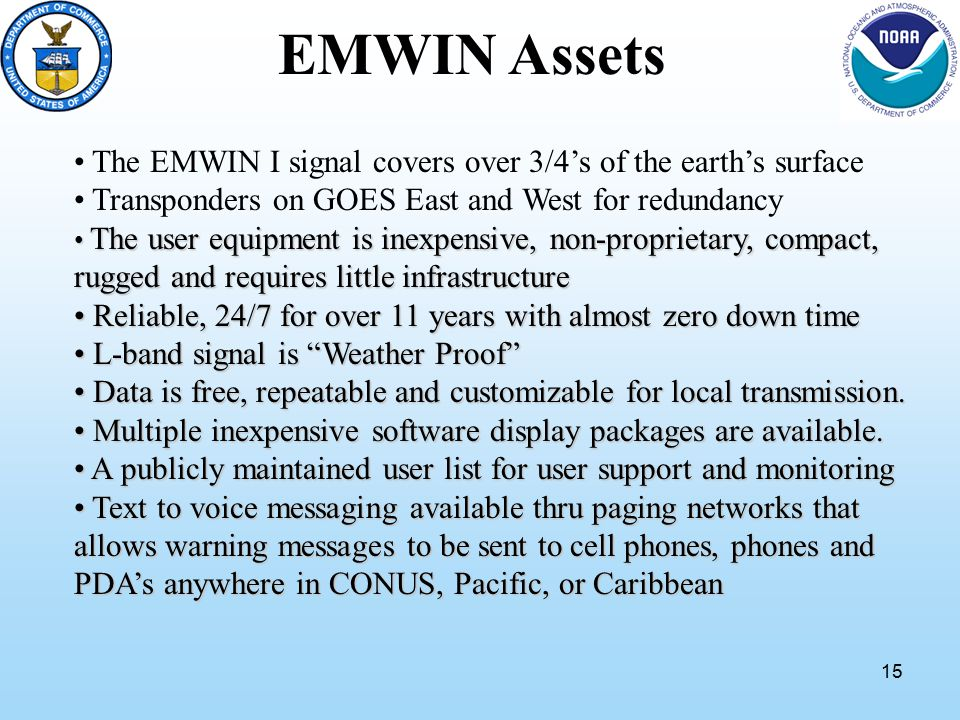 1 April 13, 2010 NWS EMWIN TEAM EMWIN OVERVIEW  2 What is