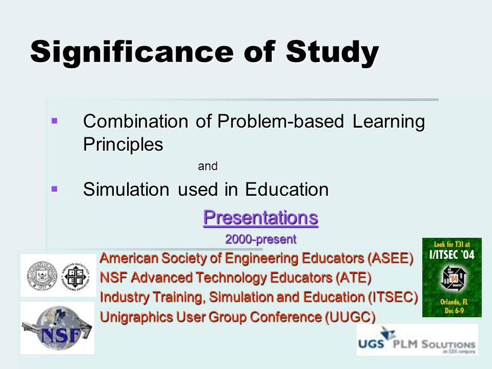 ENGAGING TEACHERS AND STUDENTS IN PROBLEM BASED SIMULATION
