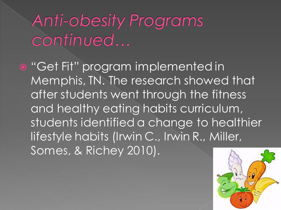  Get Fit program implemented in Memphis, TN.