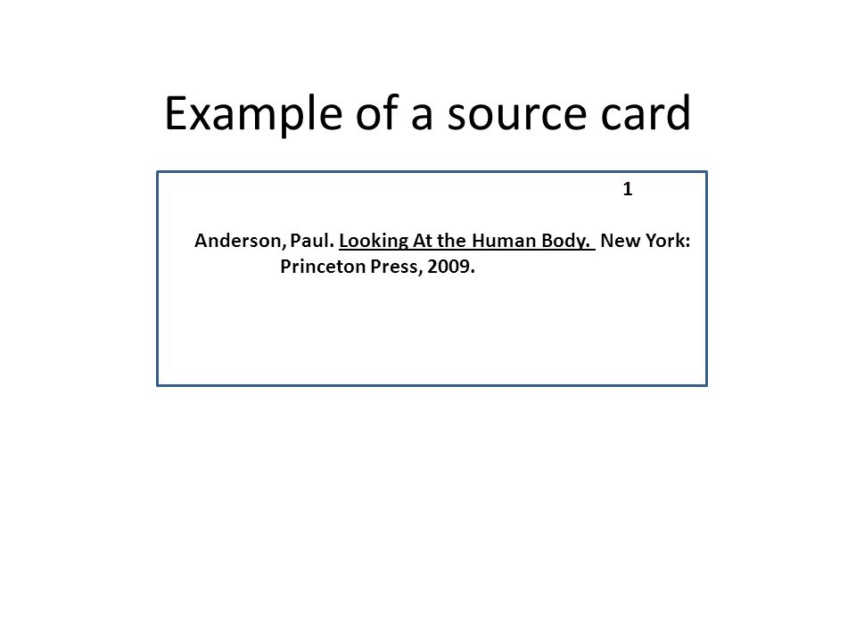 source card worksheet
