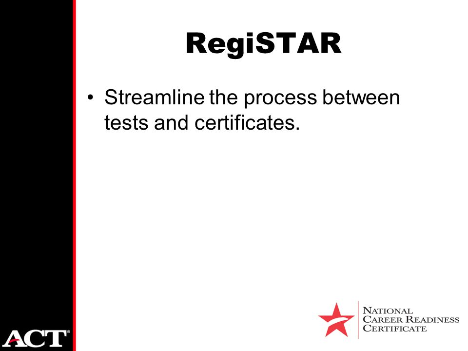Registar Act Introduces An Automated Process To Deliver National