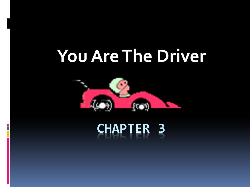 You Are The Driver  Instruments, Controls, and Devices-3 1