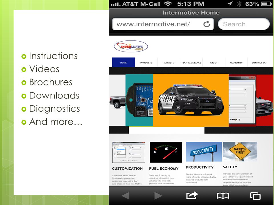  Instructions  Videos  Brochures  Downloads  Diagnostics  And more…