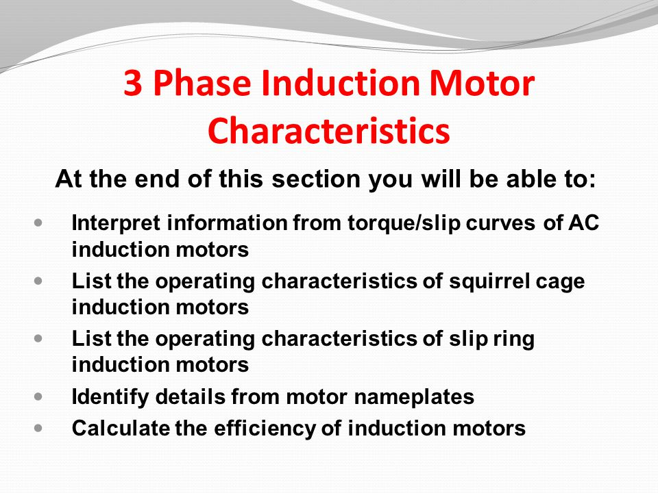 2 3 Phase Induction Motor ...